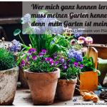 Der kleine Gartenphilosoph: Sprüche zum Nachdenken für den Mai