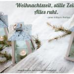 Der kleine Gartenphilosoph: Sprüche zum Nachdenken für den Dezember