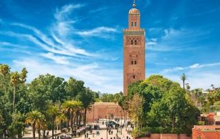 Ausflug nach Marrakesch