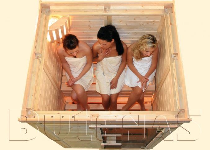 Eine Minisauna passt überall hin und kann mit normalem Strom betrieben werden. Sauna für jedermann!