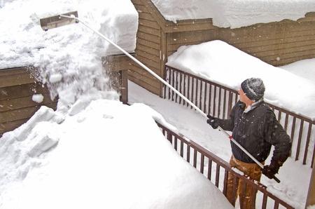 Schneelast bei Gartenhäuser
