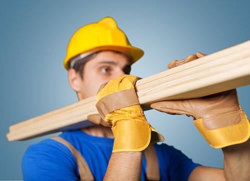 Baustoff Holz