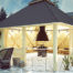 Gartengestaltung mit Pavillons