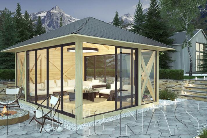 Pavillon bilder ideen und tipps for Gartengestaltung pavillon ideen