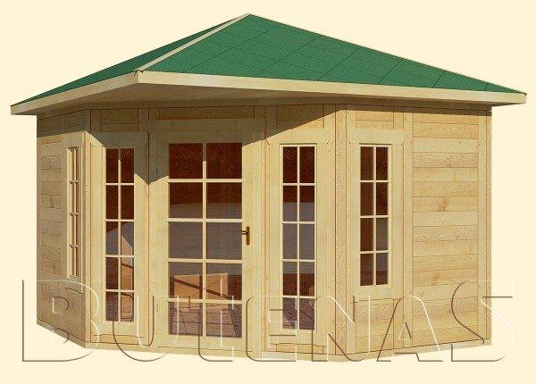 Gartenhaus LILIE - Typ E5