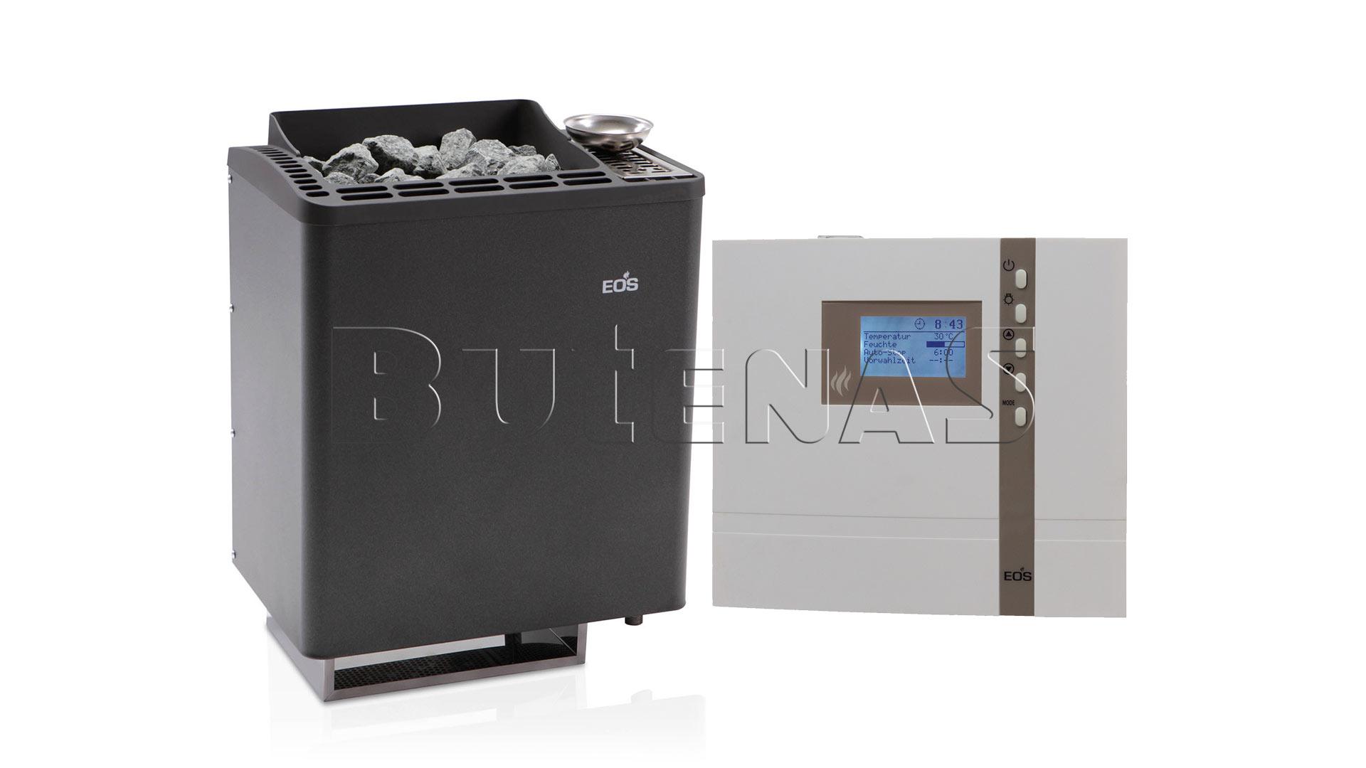 Bild von Butenas EOS Saunaofen Set - BIO-Kombiofen Bi-O Tec 9kW mit ECON H3