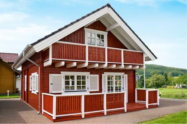 Ferienhaus STUGA mit Balkon