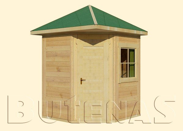 Gartenhaus LILIE - Typ E1