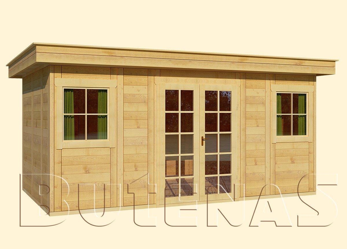 Gartenhaus CALLA - Typ F12