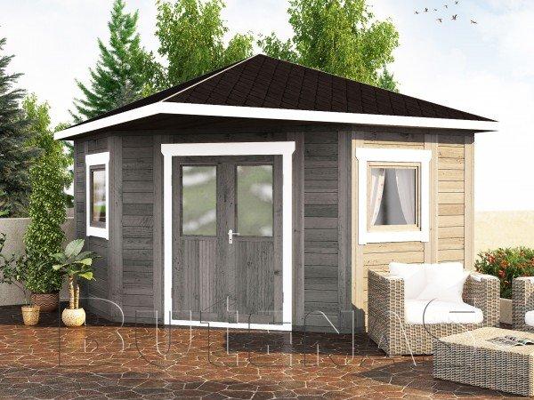 Gartenhaus LILIE - Typ E6