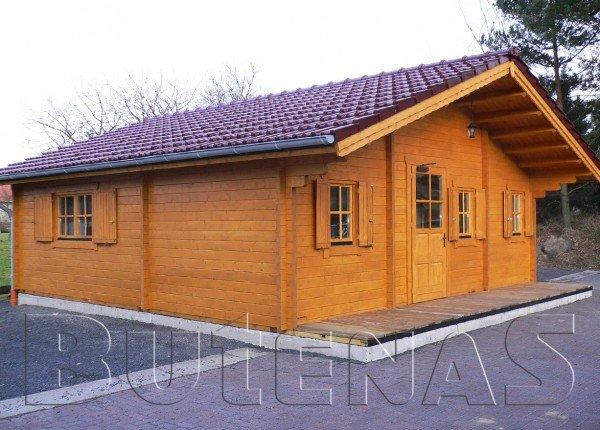 Ferienhaus Malsfeld - Exklusives Blockhaus