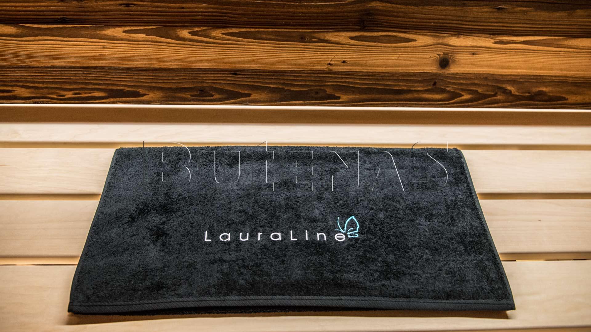 Bild von Butenas Sauna Handtuch LauraLine®