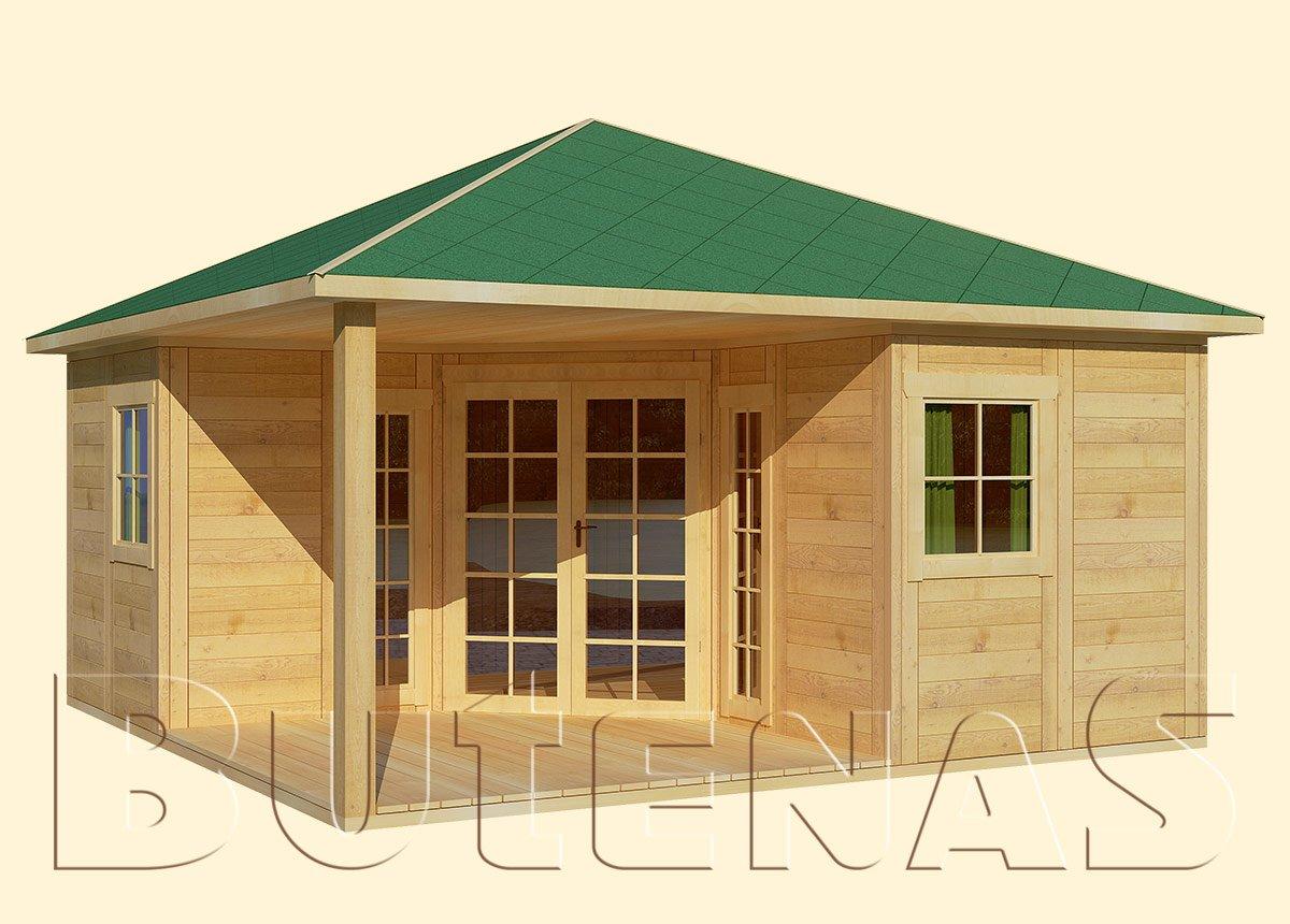 Gartenhaus LILIE - Typ E10