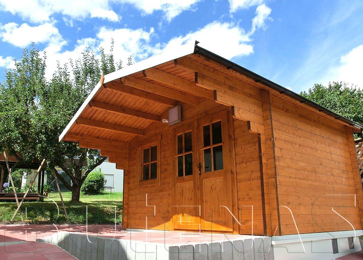 Bild von Gartenhaus ENZIAN - Typ S7
