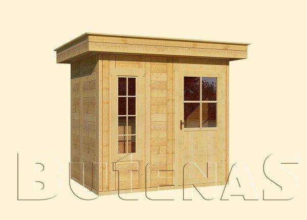 Gartenhaus CALLA - Typ F3
