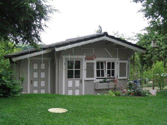Sauna - Blockhaus-Sauna MAI