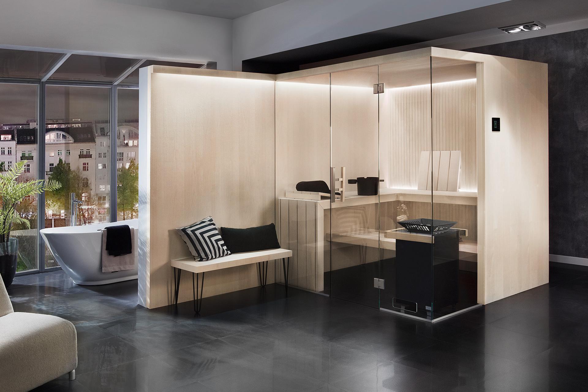Bild von LauraLine® Design Sauna DAJA