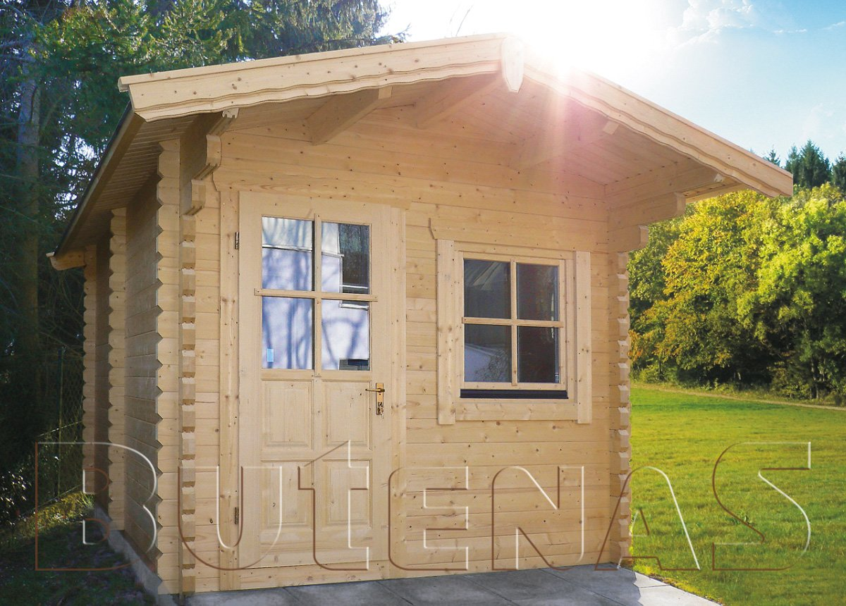 Blockhaus-Sauna HEIDE