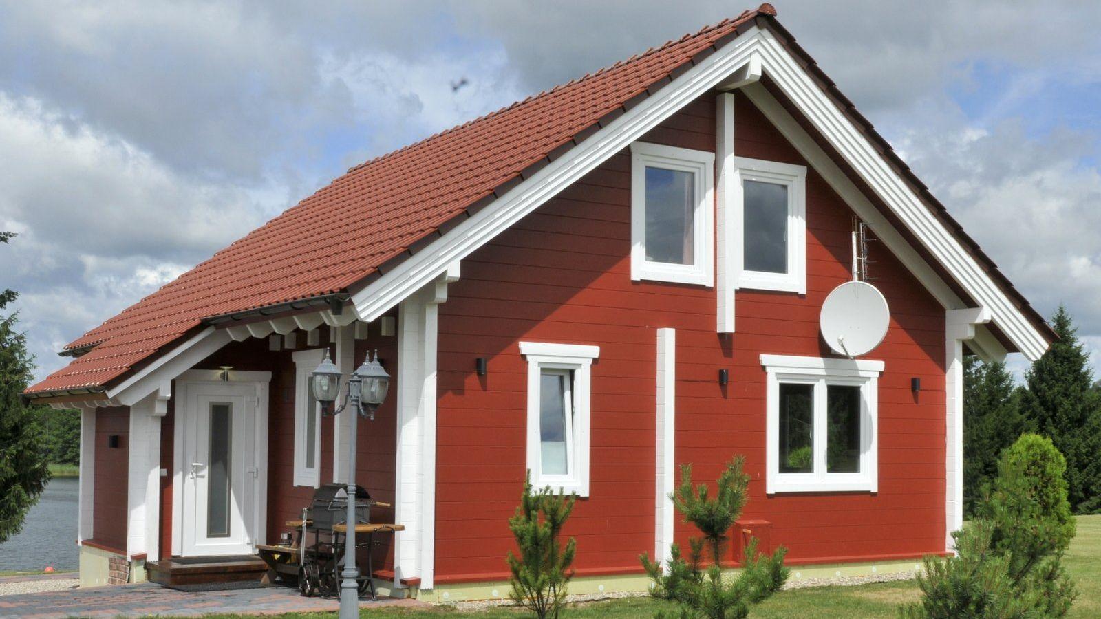 Wochenendhaus Bauen ferienhäuser aus holz » große hochwertige & exklusive auswahl | butenas