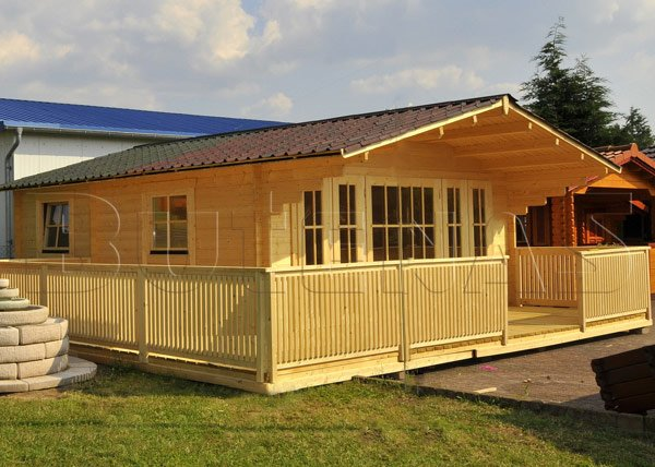 Bild von Gartenhaus ENZIAN - Typ S17
