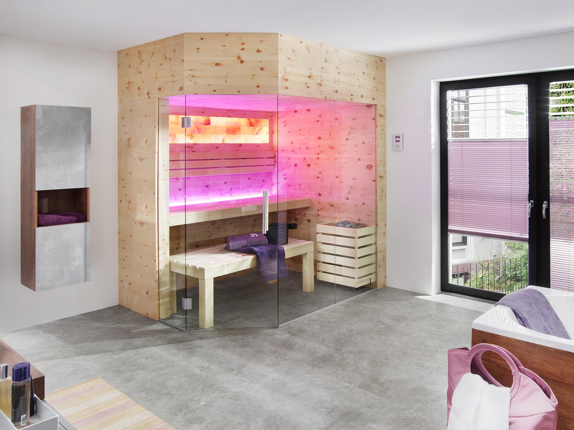 LauraLine® Design Sauna ZIRBE