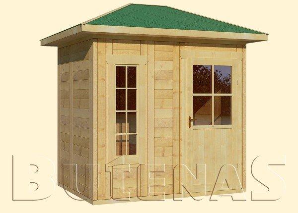 Gartenhaus MALVE - Typ W3