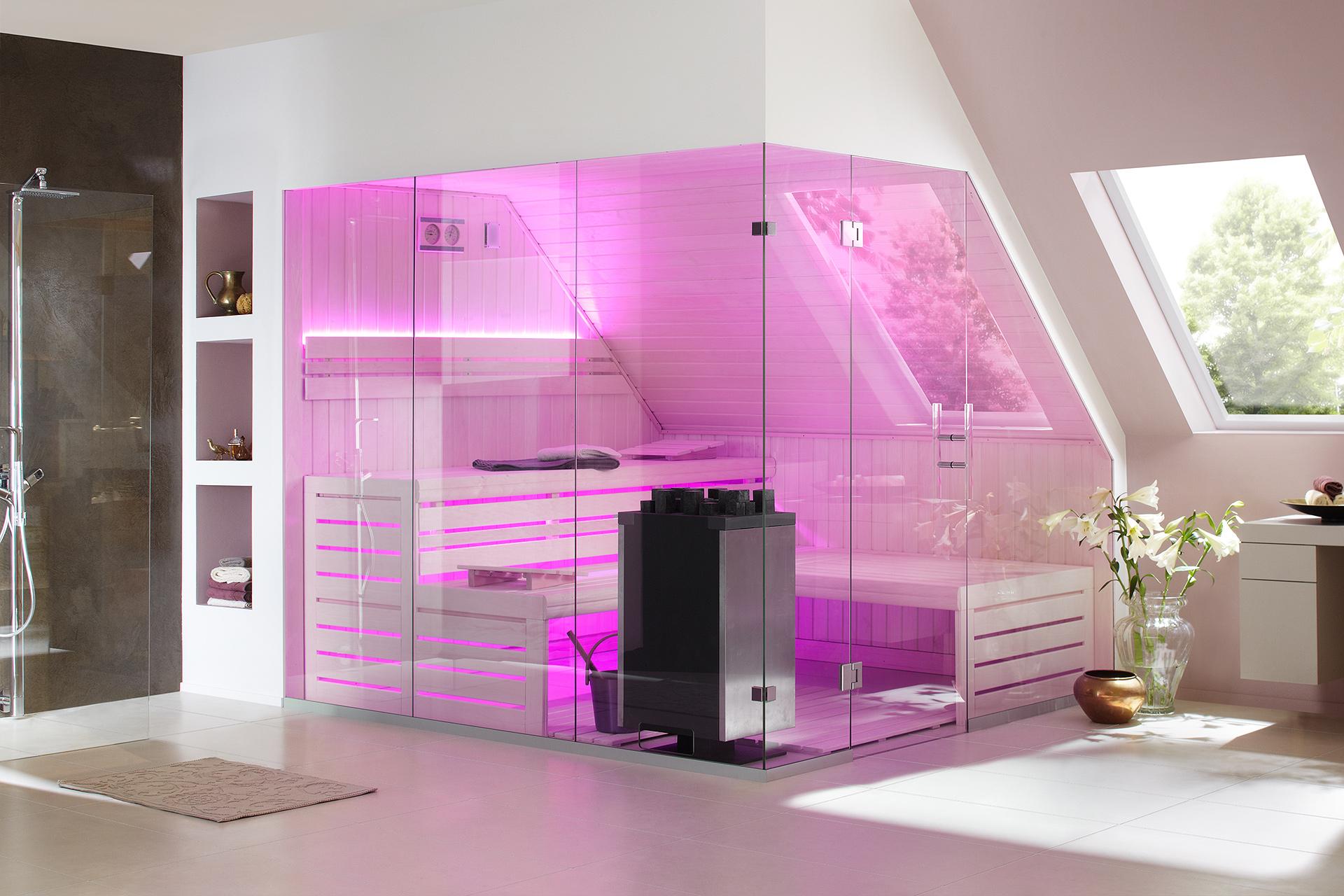 Bild von LauraLine® Design Sauna XENA