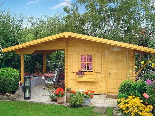Gartenhaus mit Freisitz SOMMER