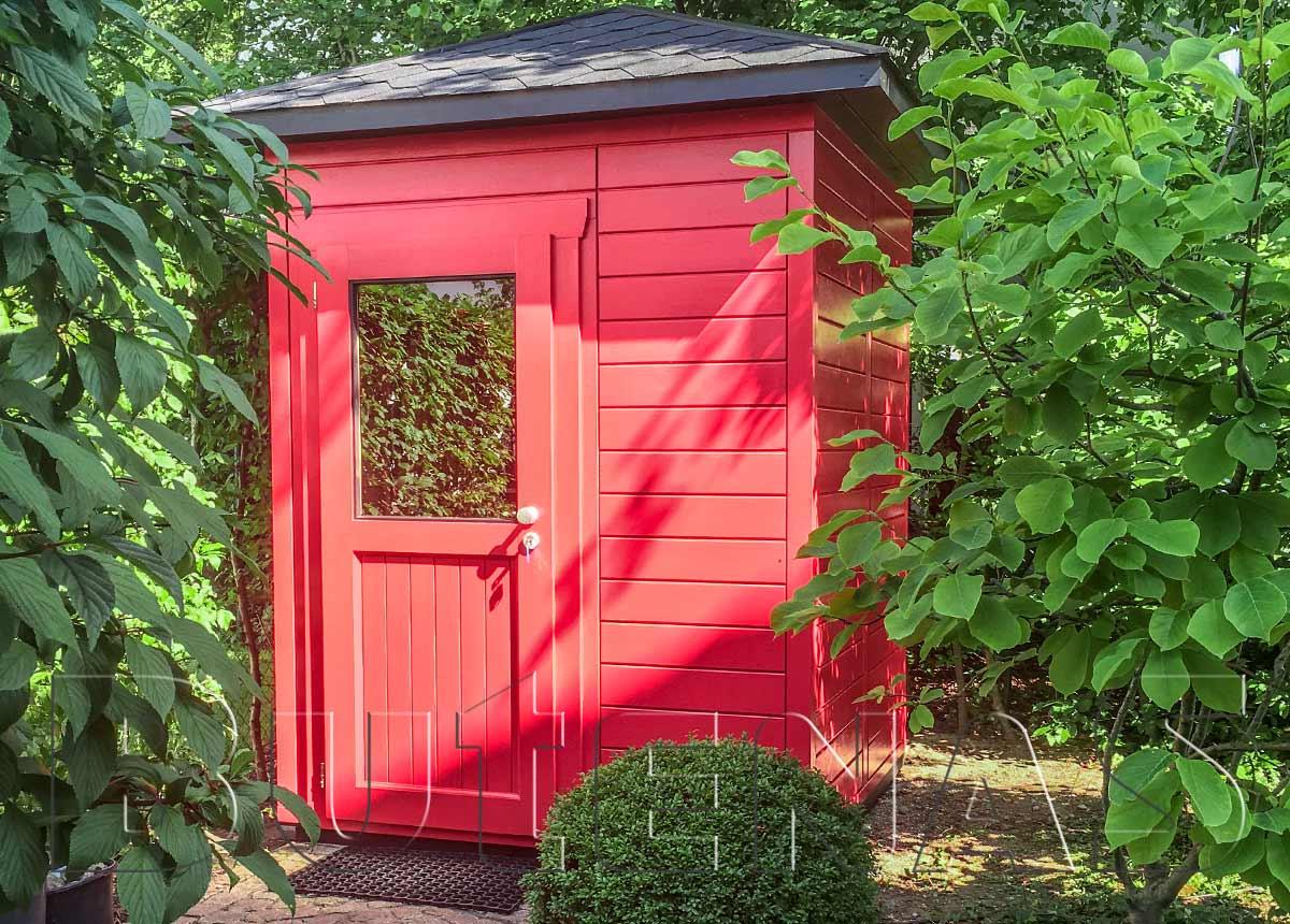 Gartenhaus MALVE - Typ W1