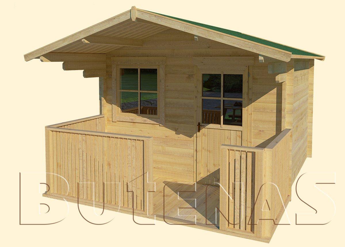 Gartenhaus ENZIAN - Typ S6