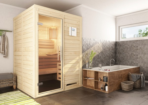 Massivholzsauna MINI