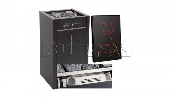 LauraLine® Design Technik Set mit Ofen und 70kg Steinen und Design Steuergerät LLCX110C Verdampfer B