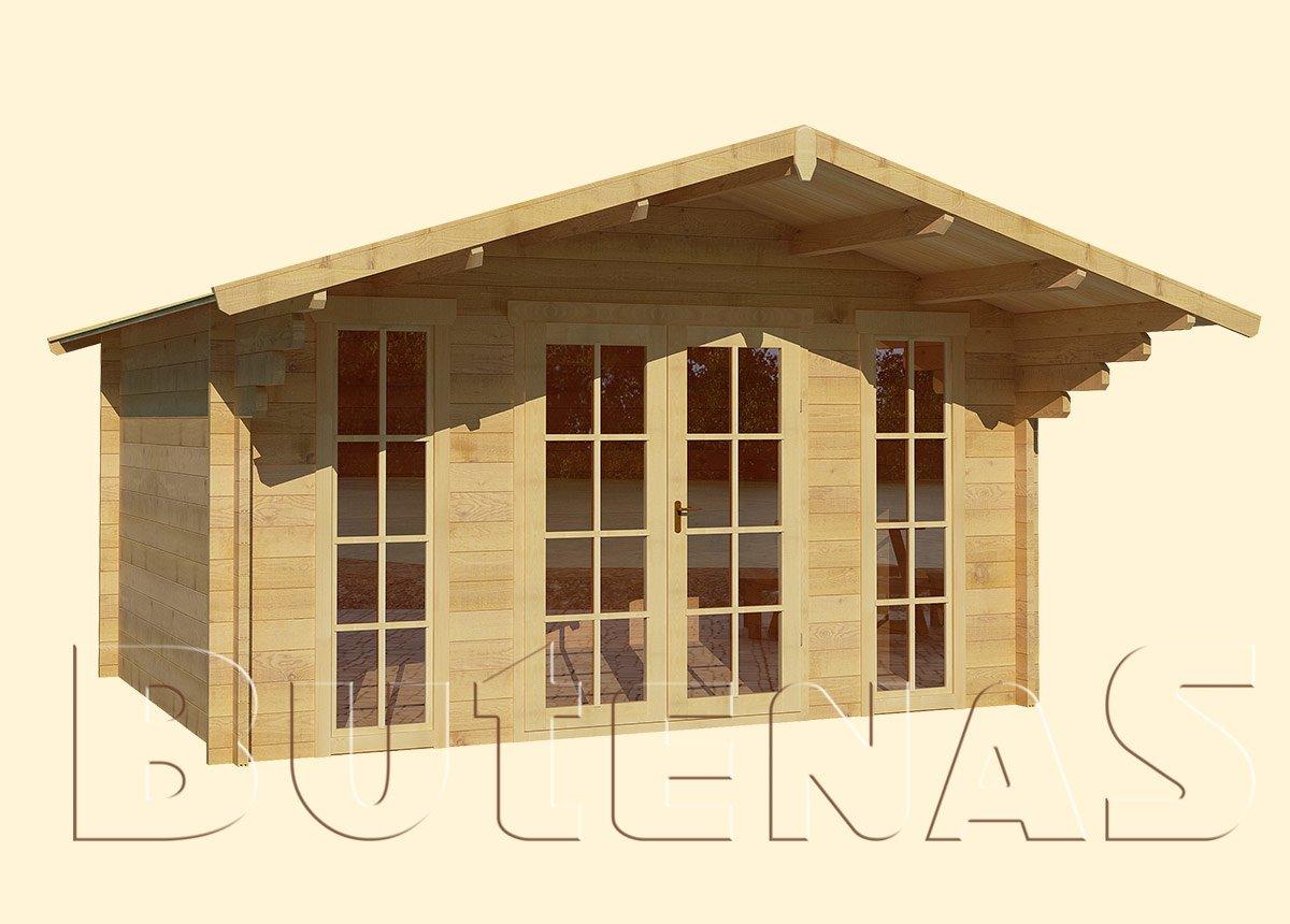 Gartenhaus ENZIAN - Typ S10