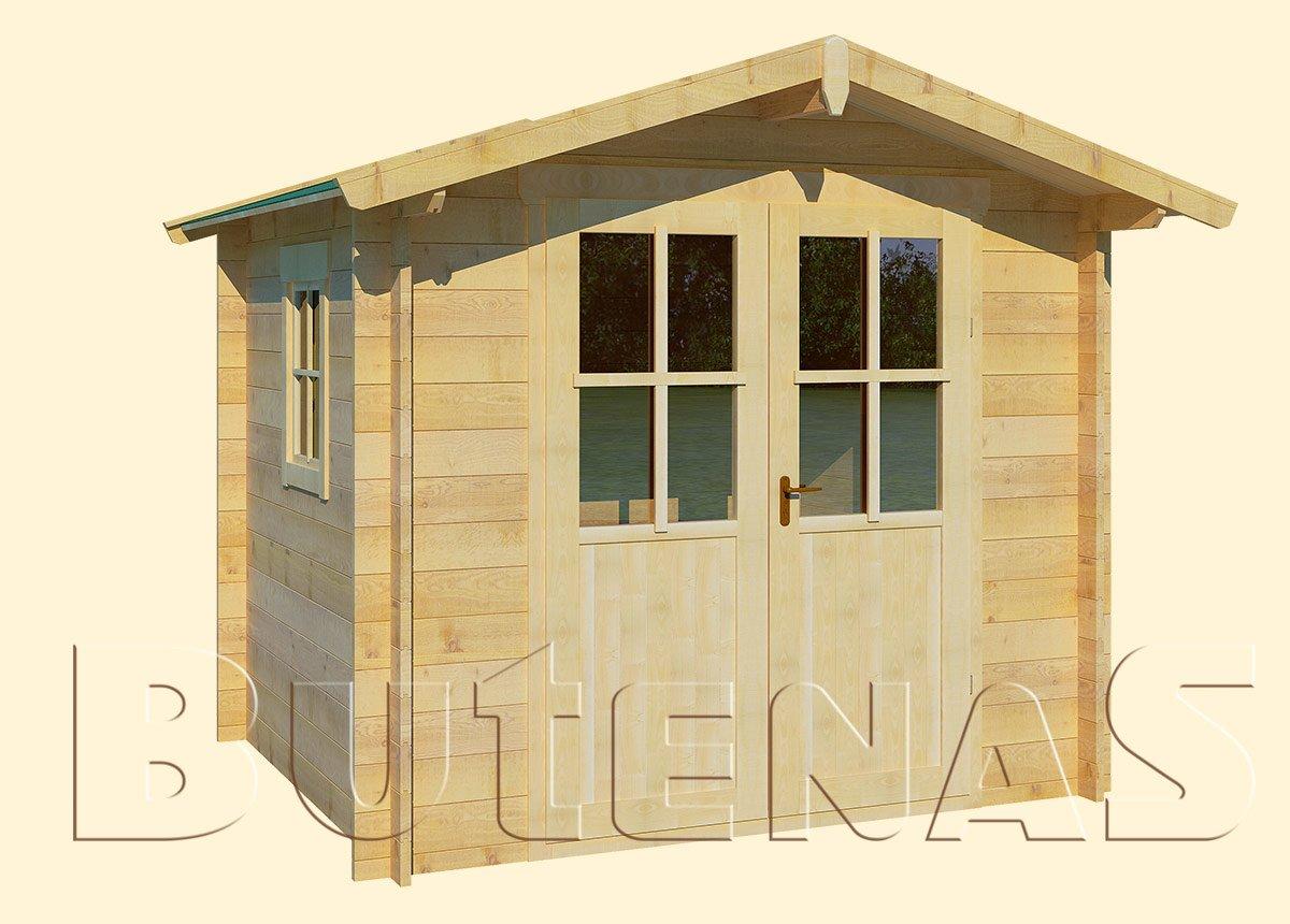 Gartenhaus ENZIAN - Typ S2 (klein)