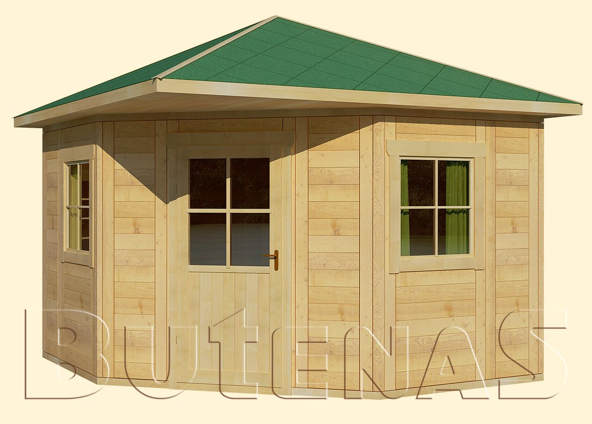 Gartenhaus LILIE - Typ E4