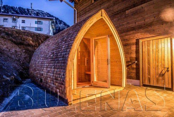 Butenas Design Saunahaus Lappland