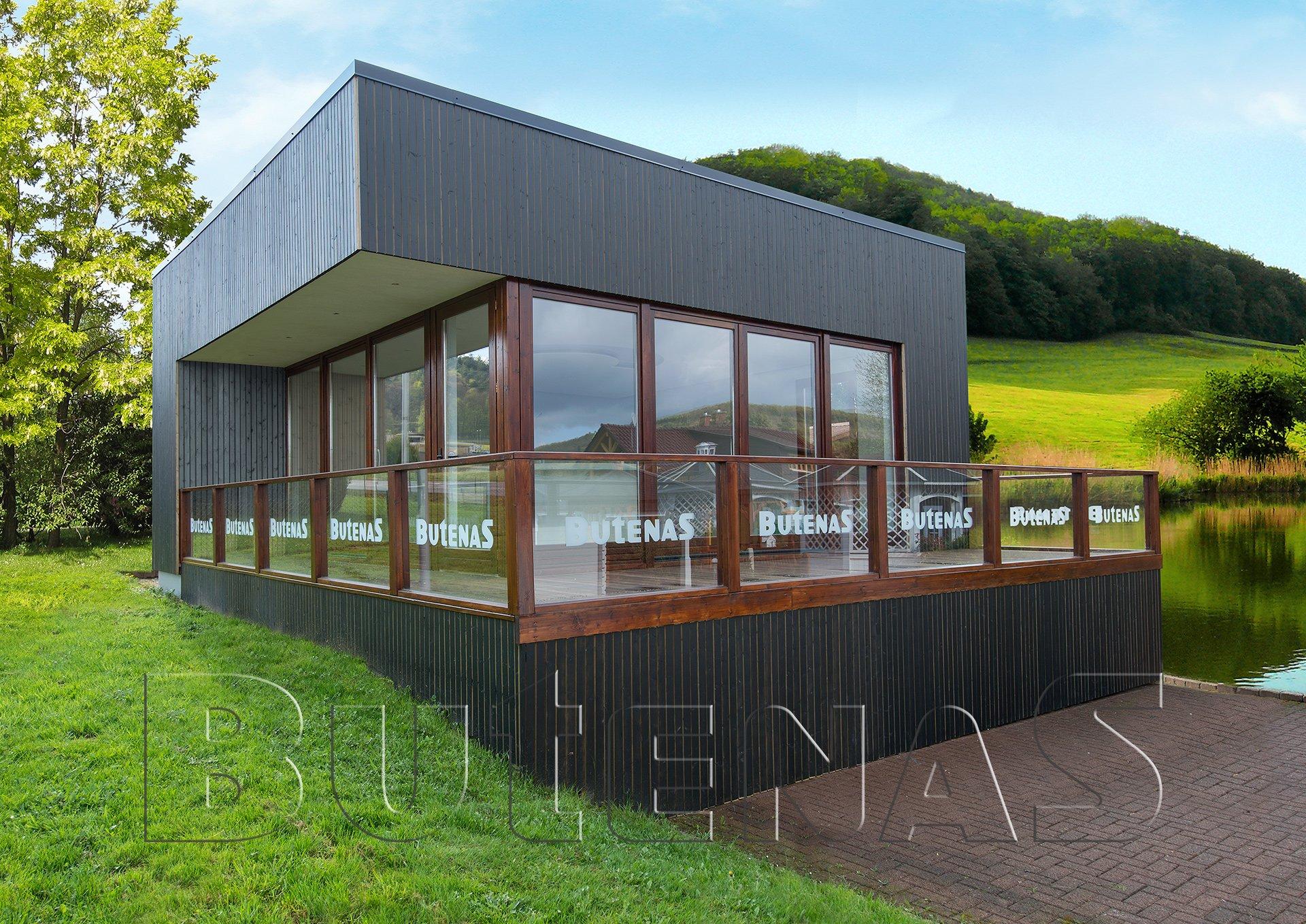 Ferienhaus Modern