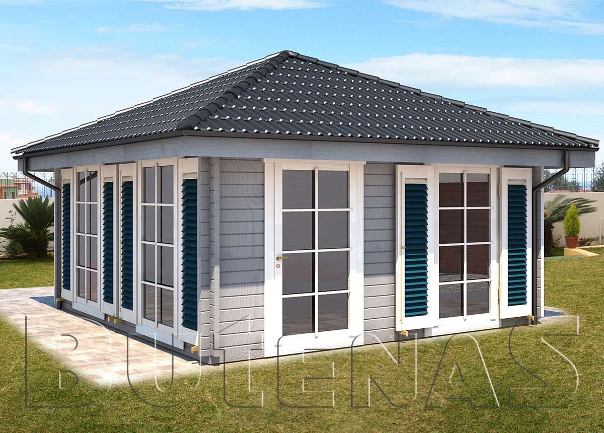 ferienhaus veronique ferienh user aus holz butenas. Black Bedroom Furniture Sets. Home Design Ideas