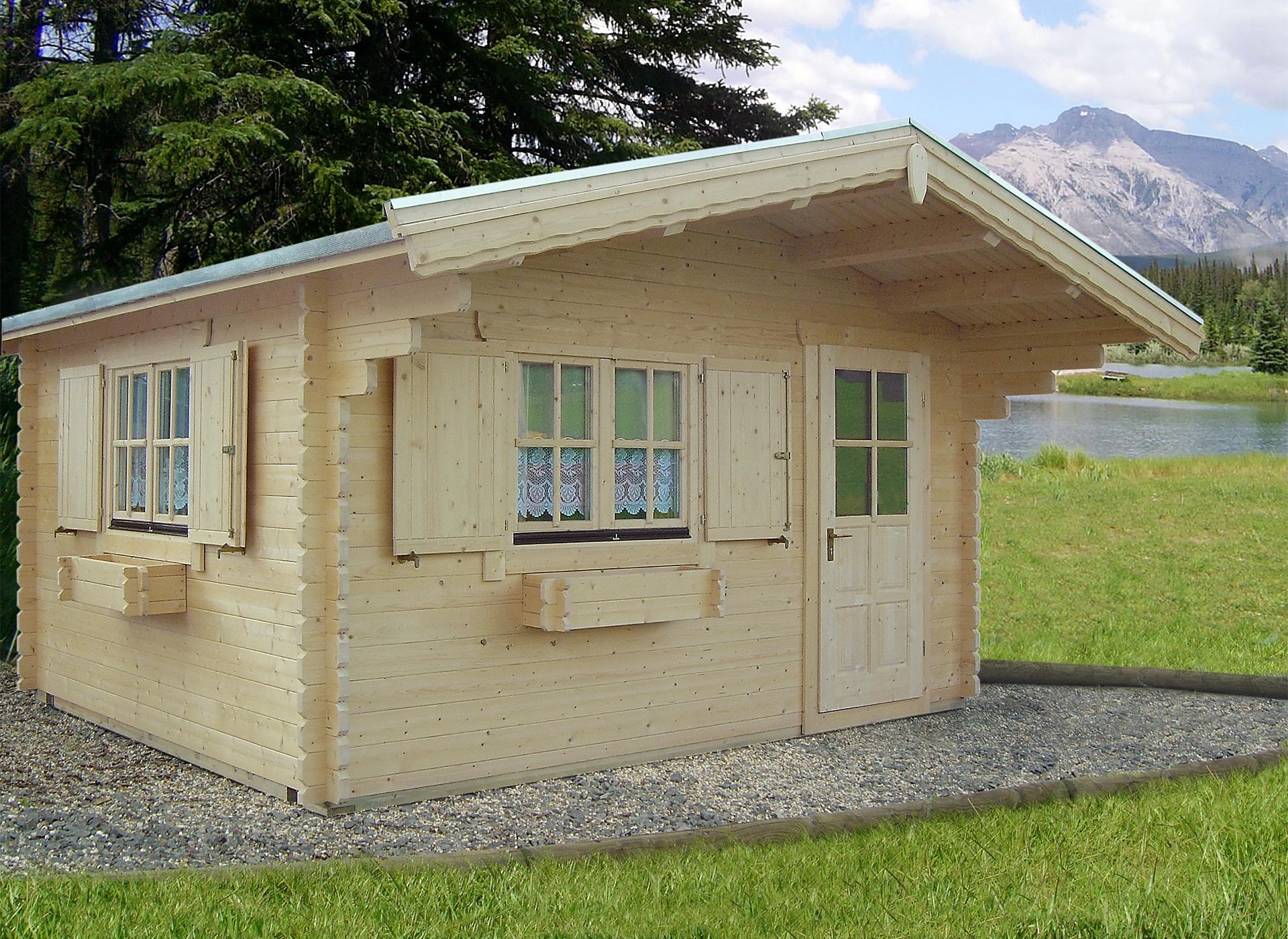 Exklusives Blockhaus-Sauna AMMERSEE