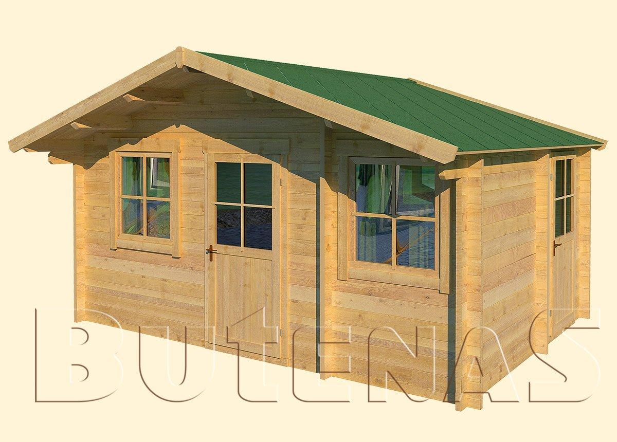 Gartenhaus ENZIAN - Typ S13