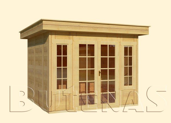 Gartenhaus CALLA - Typ F6
