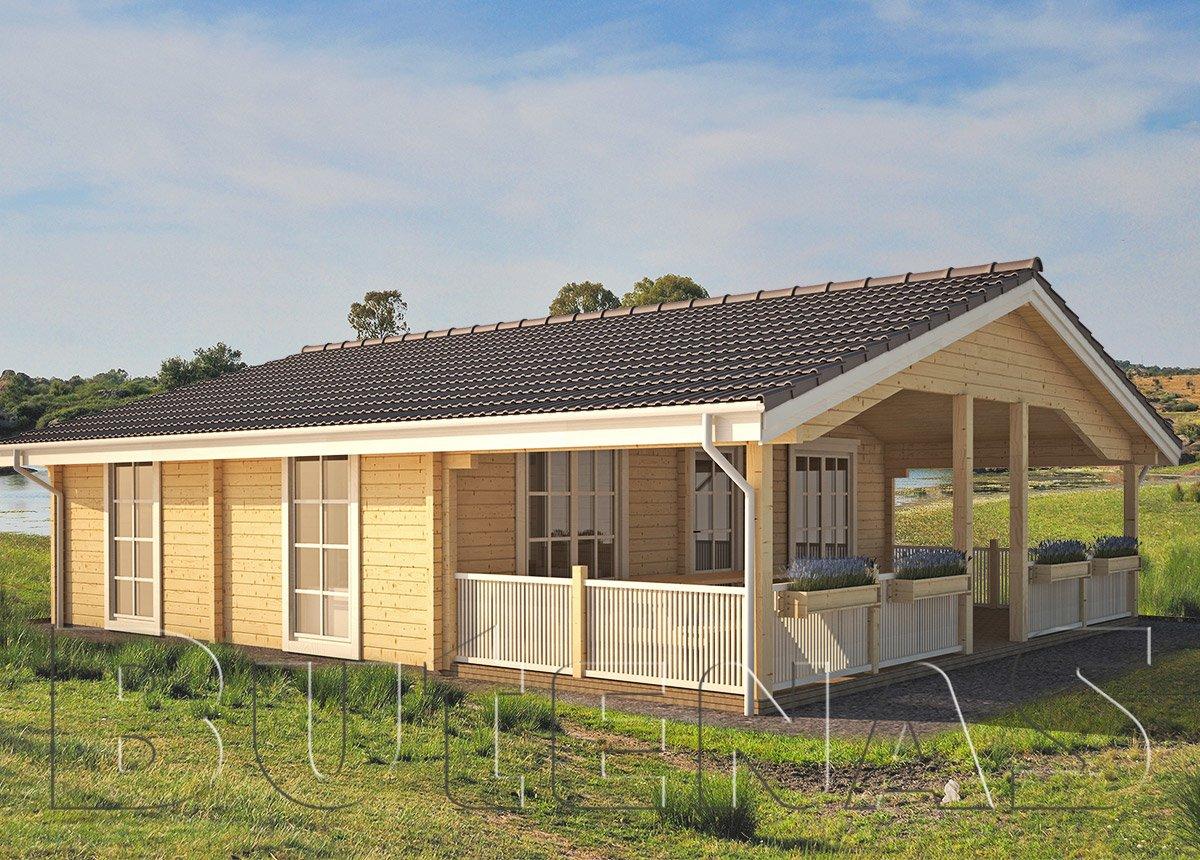 Ferienhaus Knüllwald 60 mit Terrasse