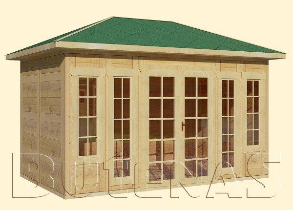 Gartenhaus MALVE - Typ W11