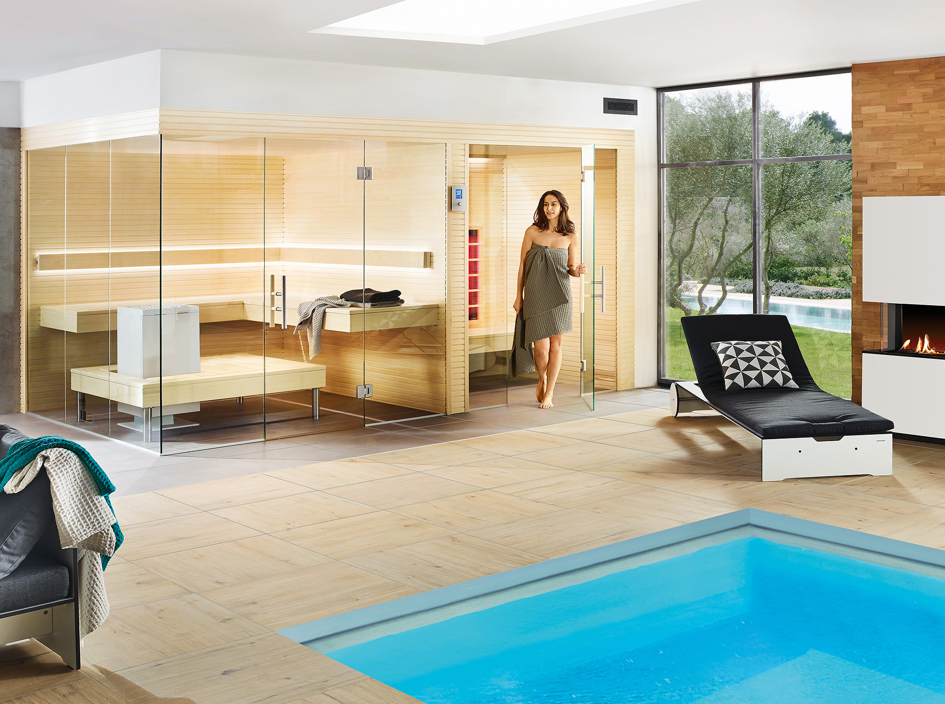 LauraLine® Design Sauna ZARA PLUS