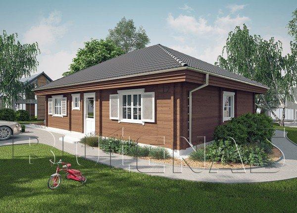 Wohnhaus - Wohnblockhaus Bergblick