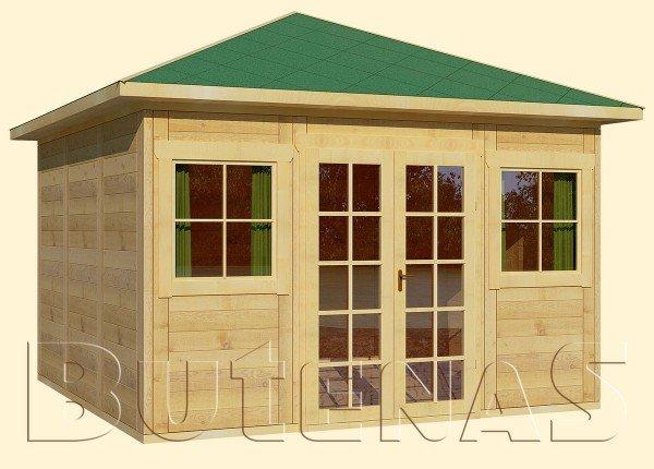 Gartenhaus MALVE - Typ W9