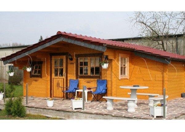 Gartenhaus ENZIAN - Typ S19