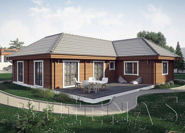 Wohnhaus - Wohnblockhaus Waldblick