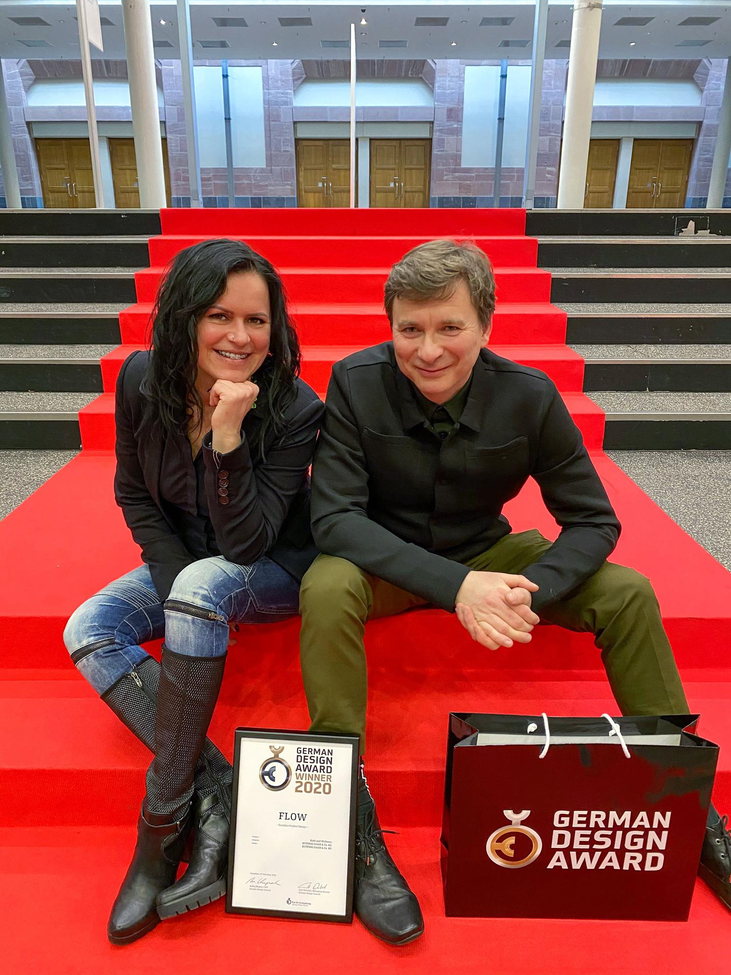BUTENAS Preisverleihung German Design Award 2020