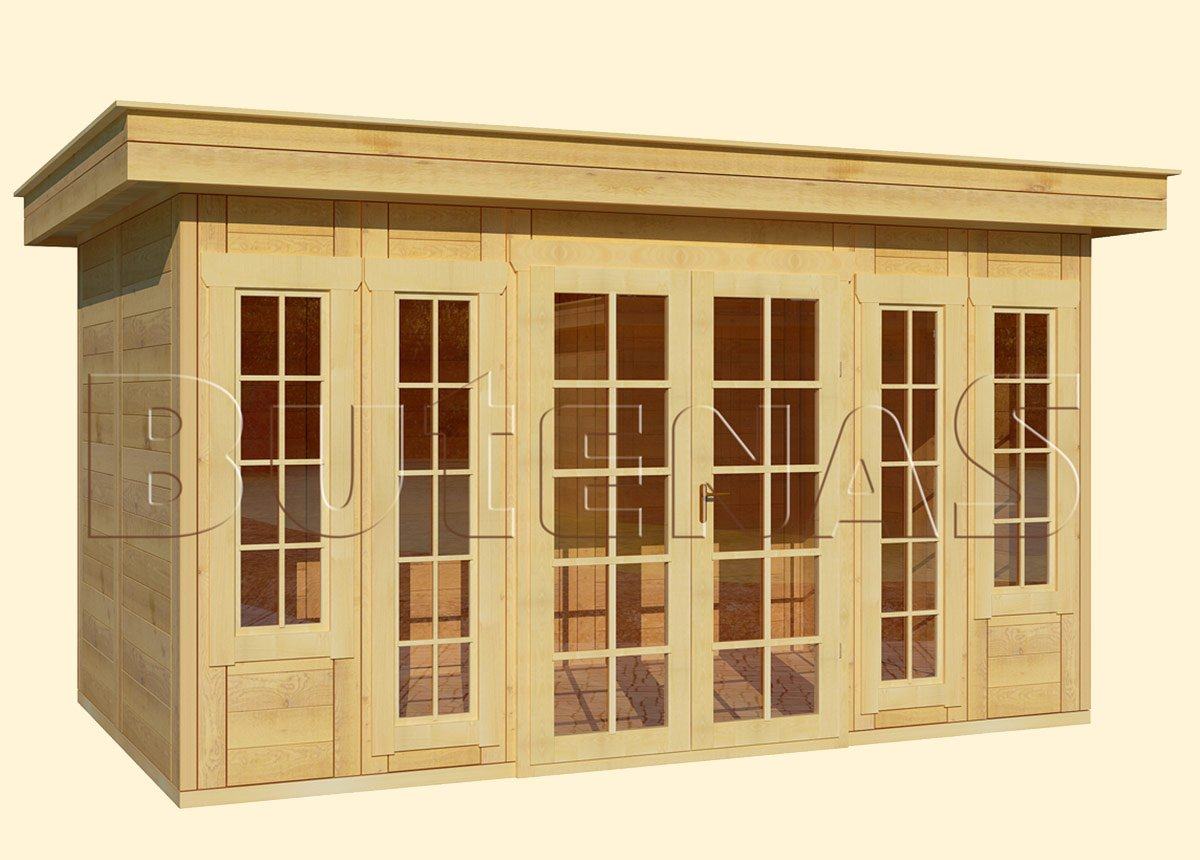 Gartenhaus CALLA - Typ F11